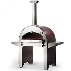 Pusiau profesionali malkinė krosnis AlfaForni 4 pizze-