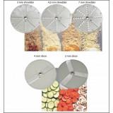 Diskai daržovių pjaustyklėm