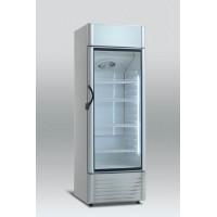 Baro šaldytuvas stiklinėm durim