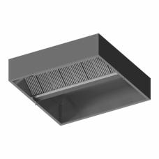 Centrinis ventiliacinis dėžutės formos gaubtas 200 / 180 / 48