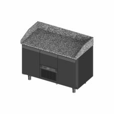 Novameta šaldomas picų stalas su granito paviršiumi FM0-P202-130/70/90