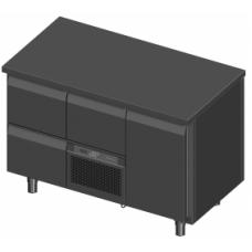 Novameta šaldomas stalas FP0-P230-130/70/90
