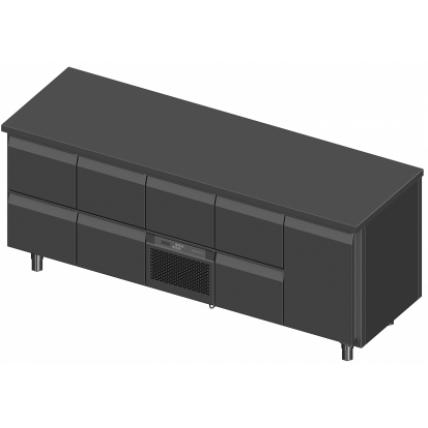 Novameta šaldomas stalas FP0-P439-213/70/90-