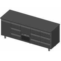 Novameta šaldomas stalas FP0-P448-213/70/90