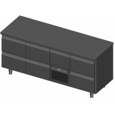 Novameta šaldomas stalas alaus dėžėms FP0-P317-196/70/90