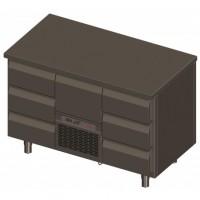 Novameta šaldomas stalas FP0-P222-130/70/90