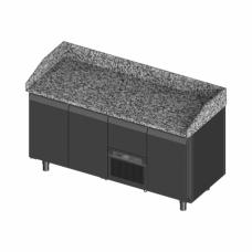 Novameta šaldomas picų stalas su granito paviršiumi FM0-P303-172/70/90