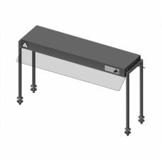 Novameta bufetinė šildoma lentyna LPHC1-114/25/55