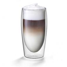 Dvigubo stiklo puodeliai Cappuccino-