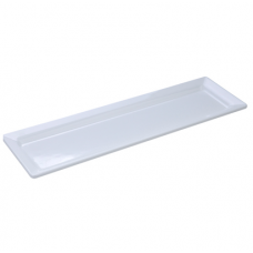 'White' Stačiakampis padėkliukas 53x18 cm, H 3 cm-