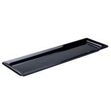 'Black' Stačiakampis padėkliukas 53x18 cm, H 3 cm-