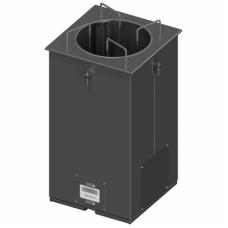 Įmontuojamas šildomas lėkščių dispenseris