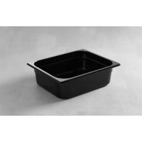 Juodo polikarbonato GN 1/2 200 mm