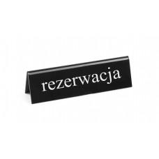 "STALINĖ INFORMACINĖ LENTELĖ - ""REZERVUOTA"" RU - 130x35x40 mm Hendi"