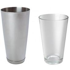 BOSTONO PLAKIKLIS plieninė stiklinė - 0.8 l