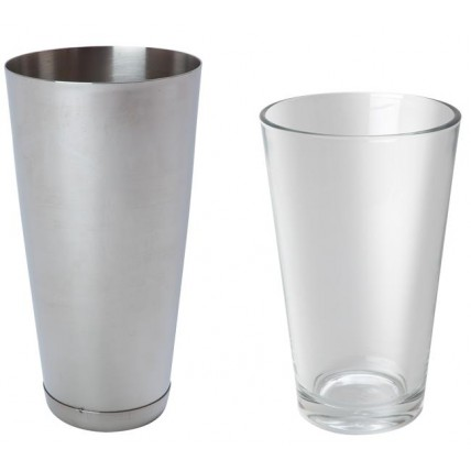 BOSTONO PLAKIKLIS stiklinė iš stiklo - 0.45 l Hendi