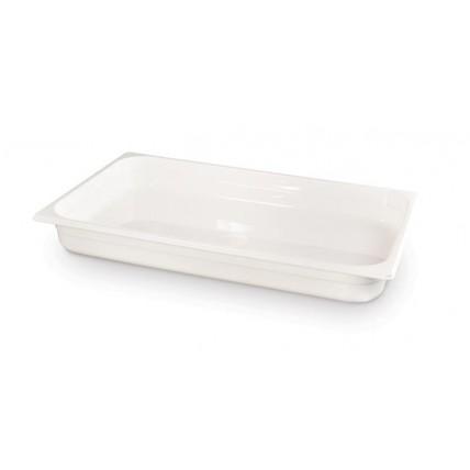 Balto polikarbonato gastronominis indas GN 1/1 - 530x325mm GN 1/1 Hendi