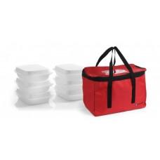 PICŲ PRISTATYMO KREPŠYS 6 maisto dėžės - 450x290x300 mm Hendi