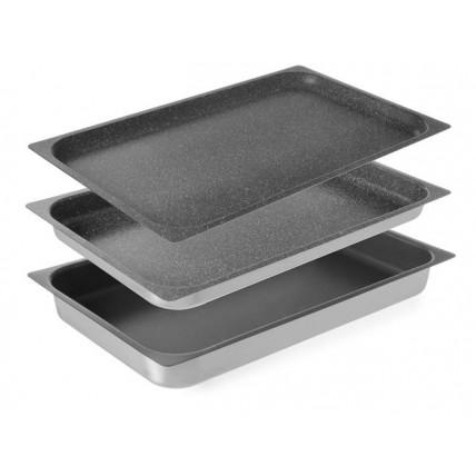 Aliuminio gastro talpa su neprisvylančia danga GN  1/1 Hendi