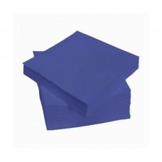 Mėlynos servetėlės LENEK 24 cm, 400 vnt.