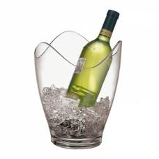 Plastikinis ledo kibirėlis baltam vynui, 25 cm