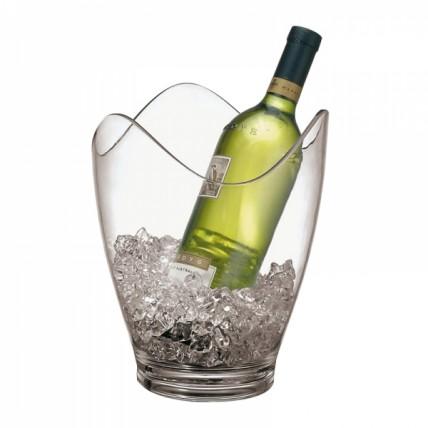 Plastikinis ledo kibirėlis baltam vynui, 25 cm Paderno