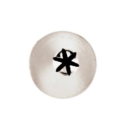 Konditerinis antgalis žvaigždutė, 6 mm Paderno