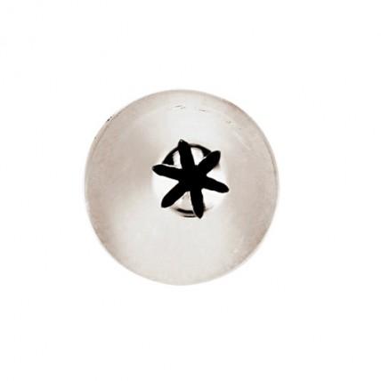 Konditerinis antgalis žvaigždutė, 9 mm Paderno