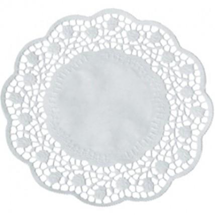 Servetėlės po tortu 15 cm, 100 vnt. PAP*STAR