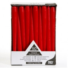 Raudonos spalvos žvakė, 1 vnt. PAP*STAR