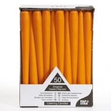Oranžinės spalvos Žvakė, 1 vnt.