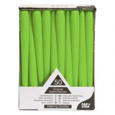Šviesiai žalios spalvos žvakė, 1 vnt. PAP*STAR