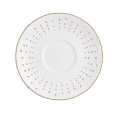 Porcelianinė lėkštė po puodeliu SATINIQUE GREY, 12.5 cm Chef & Sommelier