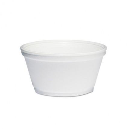 Vienkartiniai putoplasto indeliai sriubai 460 ml