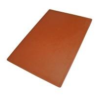Ruda plastikinė pjaustymo lentelė, 40x25x1,27cm