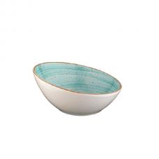 Žydra porcelianinė padažinė Bonna AURA AQUA 8 cm, 50 ml Bonna