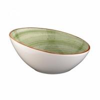"""Žalia porcelianinė salotinė BONNA """"Aura Therapy"""" 18 cm, 400 ml"""