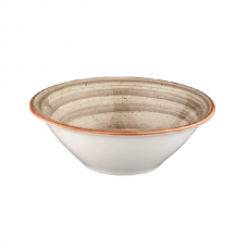Rudas porcelianis dubenėlis Bonna AURA TERRAIN, 16 cm