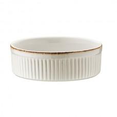"Baltas porcelianinis sufle dubenėlis BONNA ""Retro"", 14 cm"