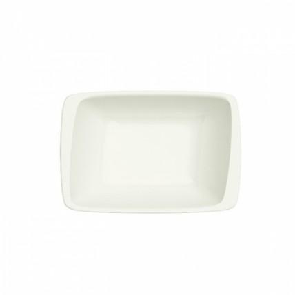 Baltas stačiakampis porcelianinis dubenėlis BONNA Moove, 16 cm Bonna