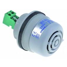 Alarm device 240vac ø 40mm 1 hole fixing 350115