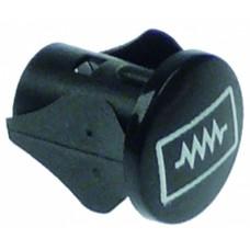 Bezel ø 13mm boiler mounting ø 10mm 359775