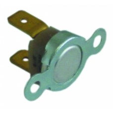 Bi-metal safety thermostat 1-pole connection f6.3 390312