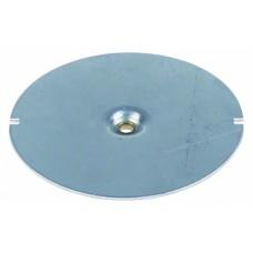 Hot plate 100-240v ø 95mm h 8mm hole ø 5,3mm 417434