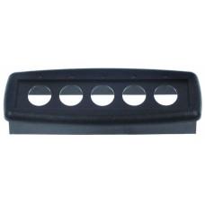 Bezel l 112mm w 40mm black plastic 529945