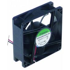 Axial fan l 80mm w 80mm h 25mm 24vdc 1,9w 601439